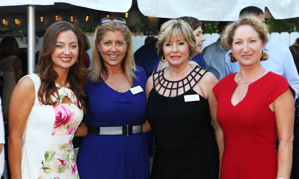 Founder Angela Melvin and board members Michelle Whitlock and Joy Gugliezza
