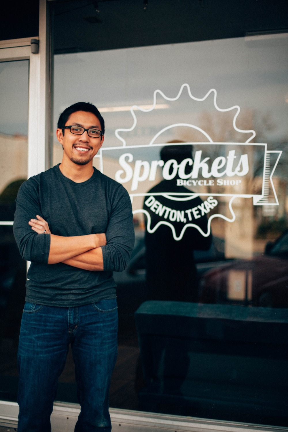 Sipo - Founder - 10 years in the bike industry.  Specializes in carbon repairs and painting.  Started Sprockets from his college apartment and grew the business to a 3000sqft retail location in downtown Denton.