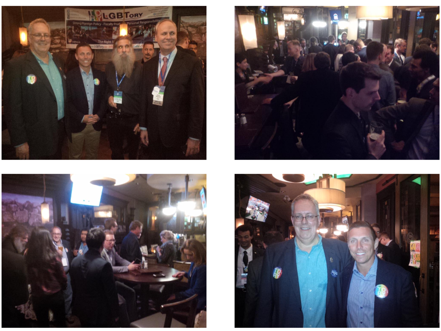 LGBTory Pub Night at Vancouver Convention