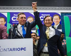 PATRICK BROWN & RAYMOND CHO CELEBRATE