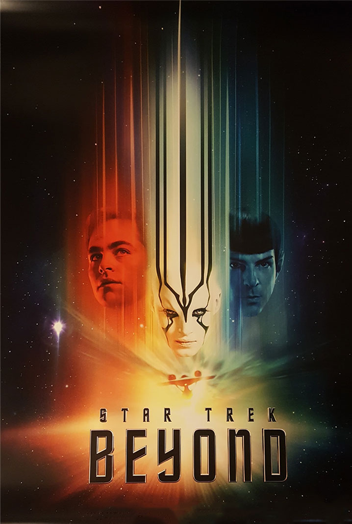 Star Trek Beyond The USS Enterprise crew encounters a new, ruthless enemy during their exploration of uncharted space, putting them and everything the Federation stands for to the ultimate test.