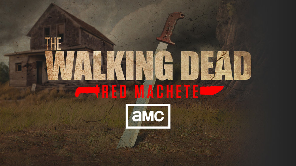 THE WALKING DEAD RED MACHETE   Follow the path of the red-handled weapon used by Rick Grimes to kill Terminus leader Gareth; from its innocent beginnings on a hardware store shelf at the start of the apocalypse into the hands of various survivors, familiar and new.