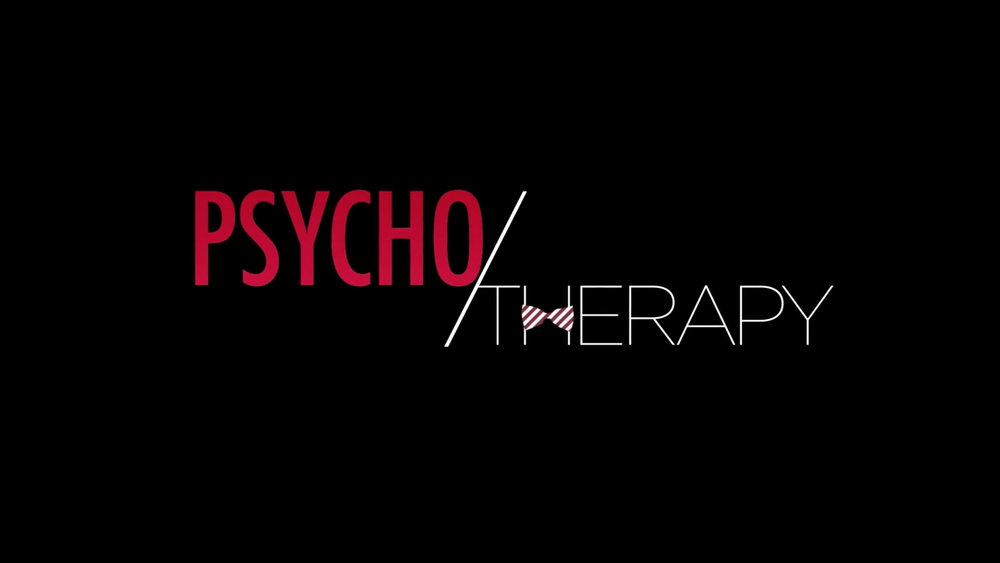 PSYCHO/THERAPY   J. Teddy Garces is Dr. Theodore W. Evington lll, a dysfunctional therapist that tells you exactly what you DON'T want to hear... and you'll love him for it.