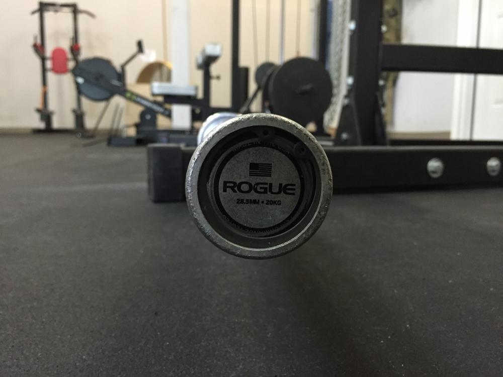Rogue 2.0 bars.