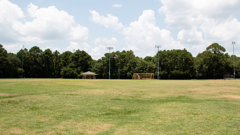 Chaplin multipurpose fields with pavilions