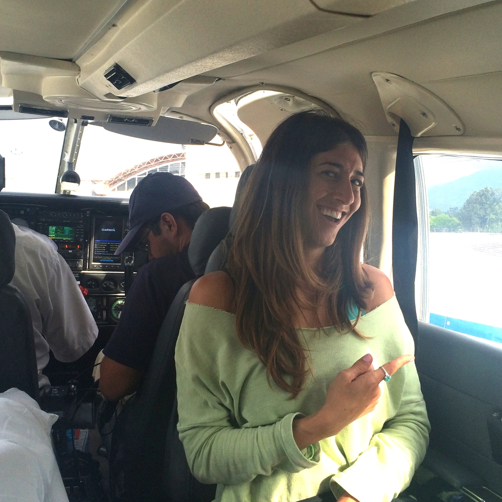 Me on my private helicopter ride! Thanks Ricardo, Sergio and crew!