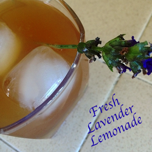 A non-alcoholic, fresh lavender lemonade perfect for all occassions!