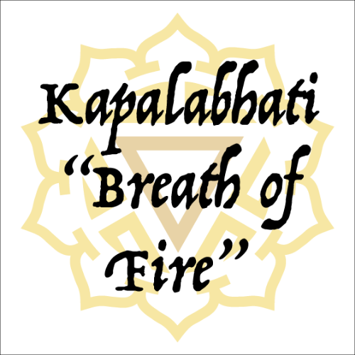 How to Do Kapalabhati - Breath of Fire Pranayama in Yoga (Video)