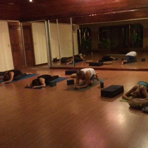 Restorative Yoga in Jaco, Costa Rica