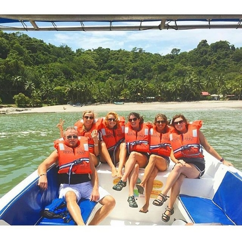 Speedboat to Montezuma