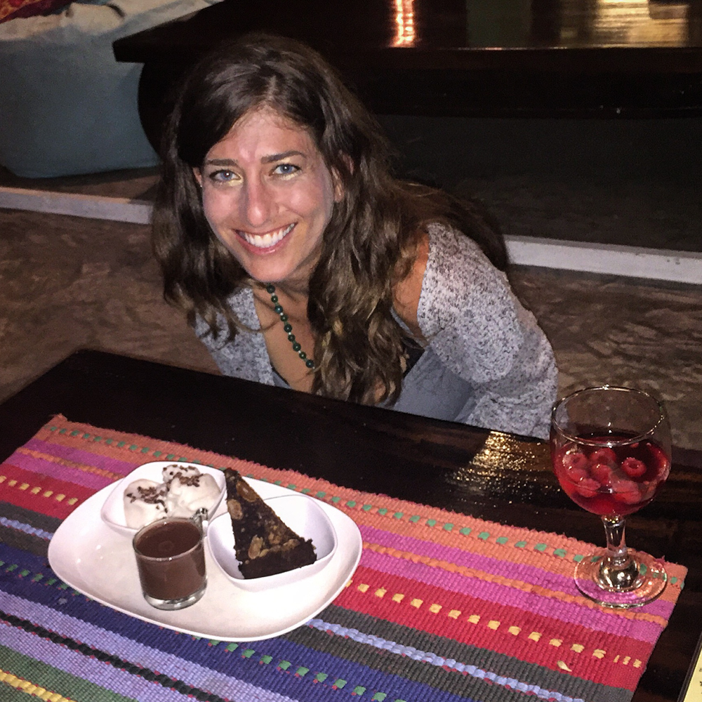 "My birthday dinner! I enjoyed the Sangria and for dessert, I had the ""Sundae 3some"" - Warm fudge brownie, coconut ice cream & a warm chocolate shot. Delish!"
