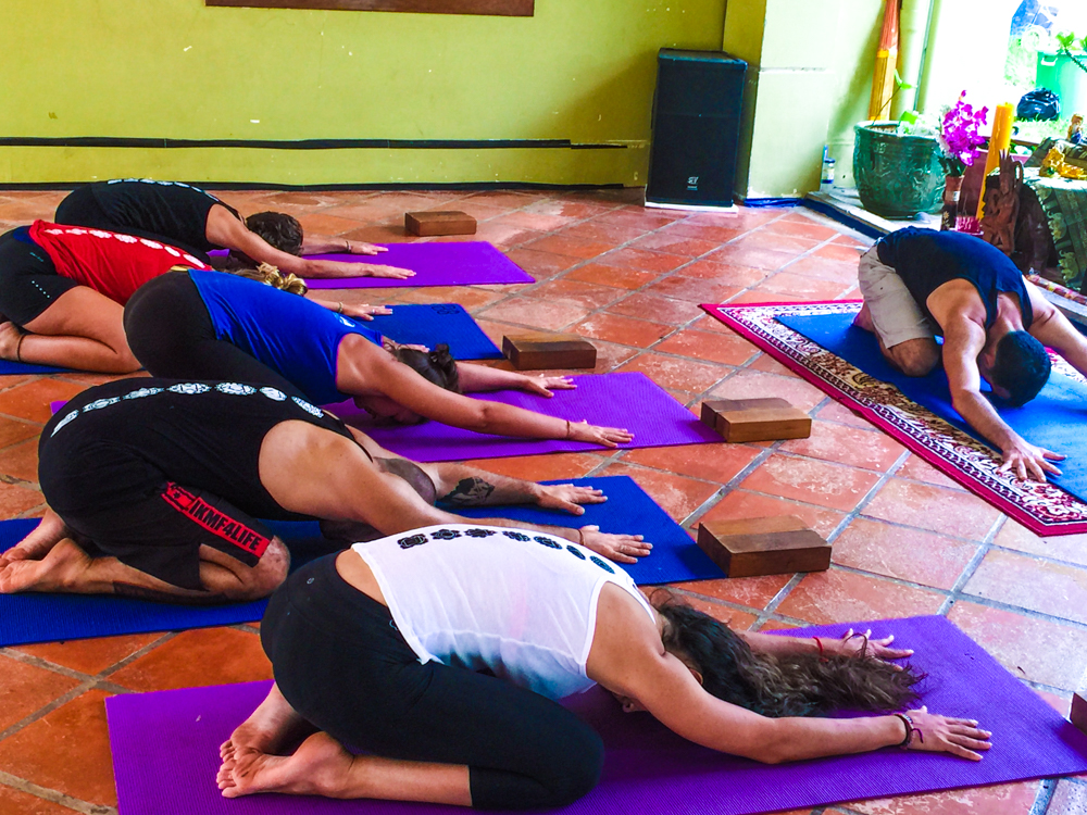 Yoga twice a day at  Vagabond Temple . Styles include Vinyasa, Hatha, Yin, Restorative, Kundalini & more.