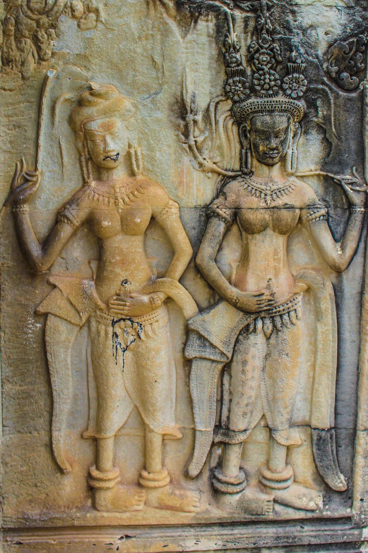 Wall Carvings