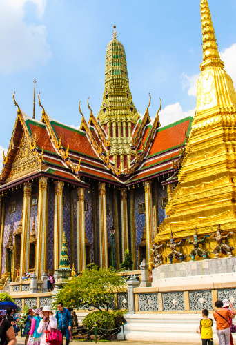 A view of the Grand Palace.