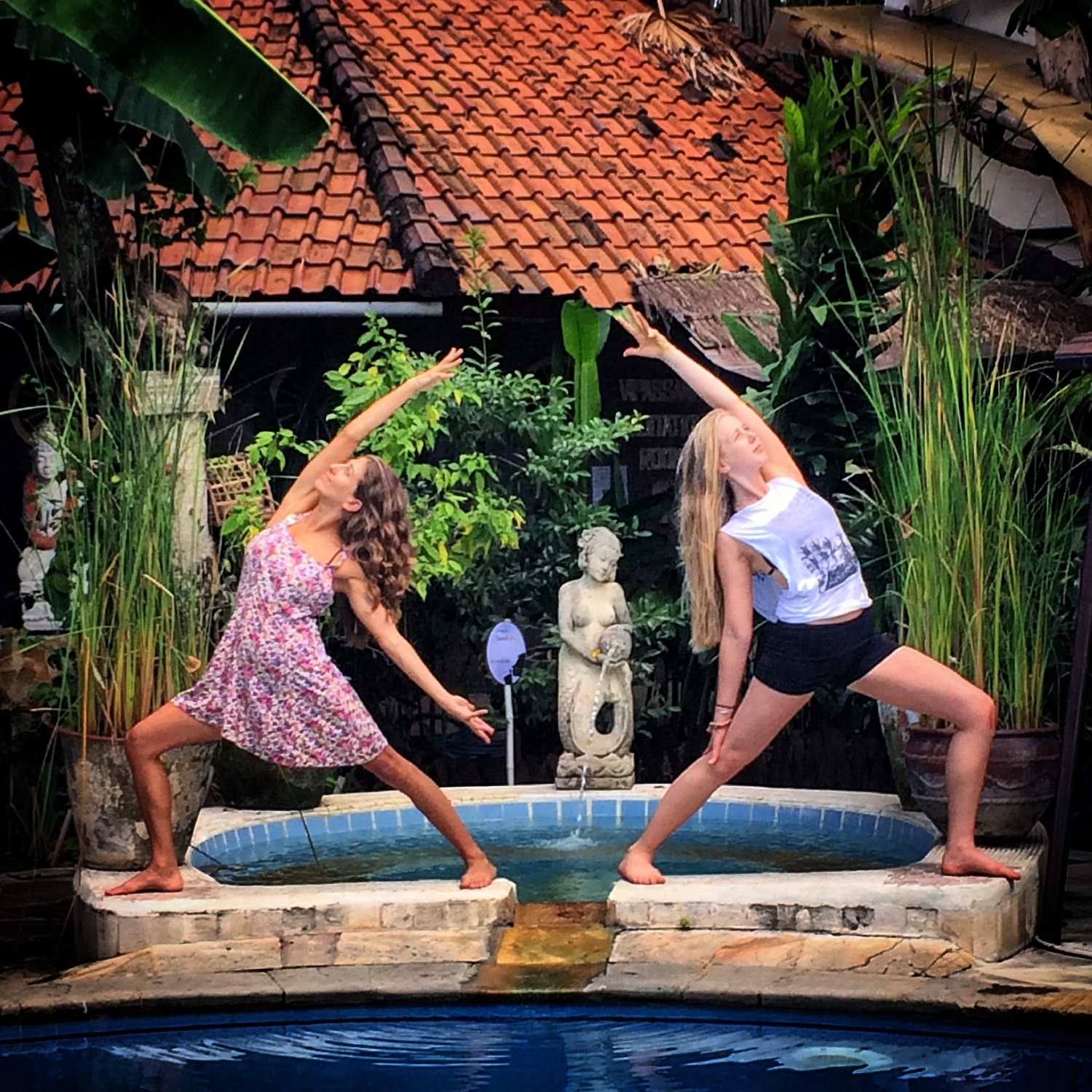 Serene Yoga Retreat in Bali, Indonesia