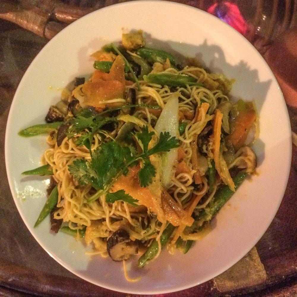 Stir-Fried Noodles & Vegetables