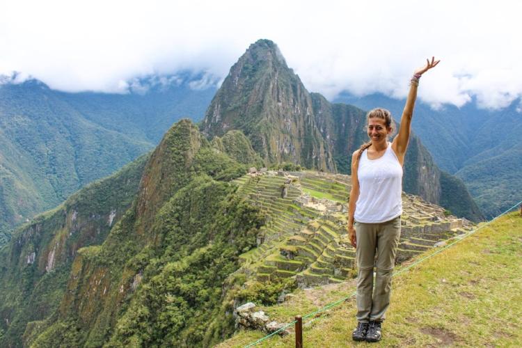 Me in Macchu Pichu, Peru