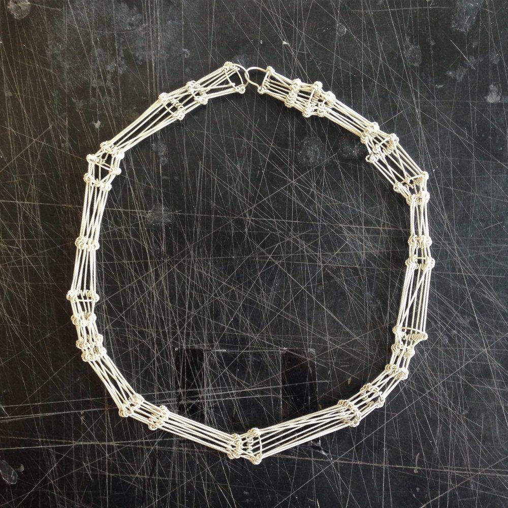 Inkle Mini Neckpiece 2016, Silver.JPG
