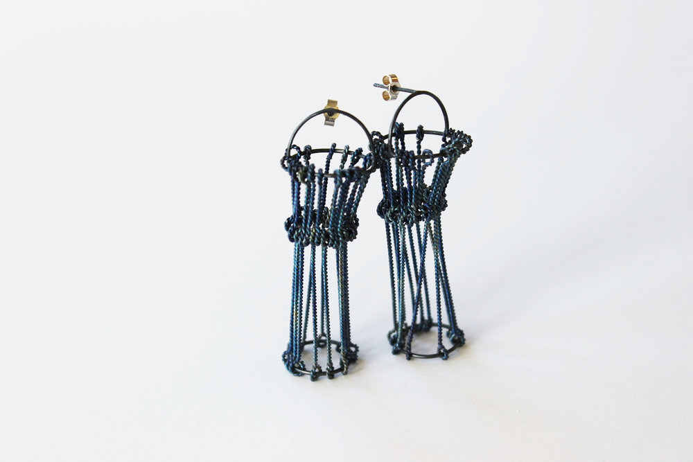 Threadbare Earrings, 2015. Silver & titanium, 30x10x10mm (1).jpg