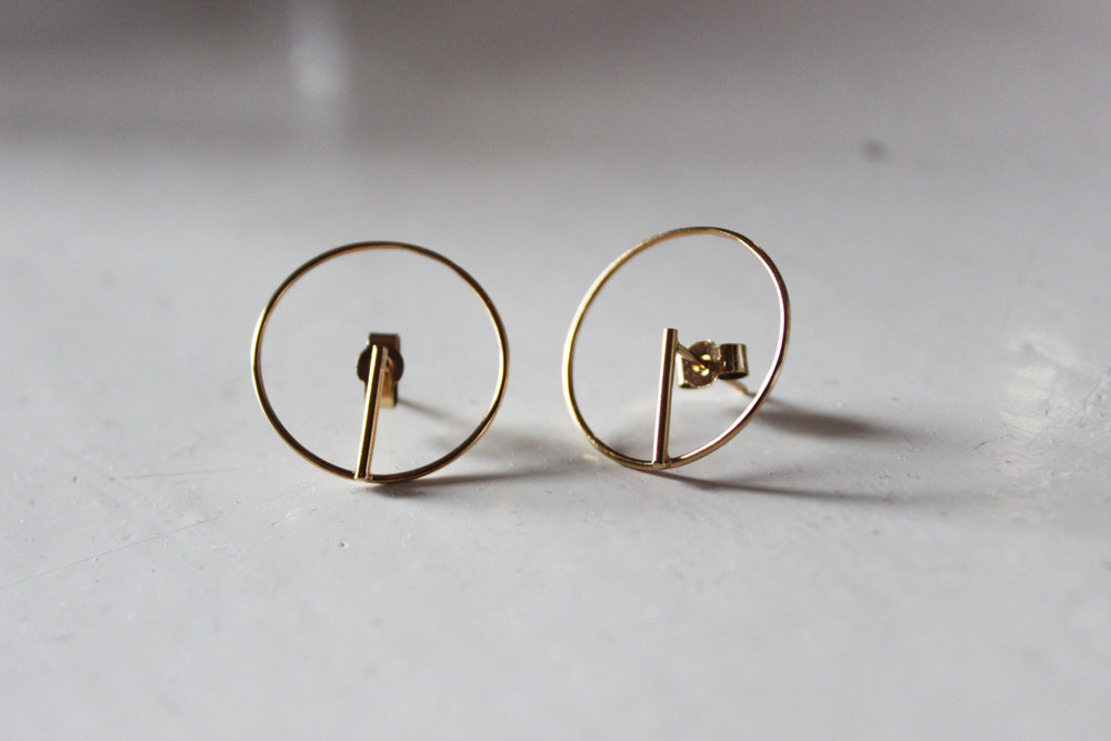 Circle earrings gold plated 3.jpg
