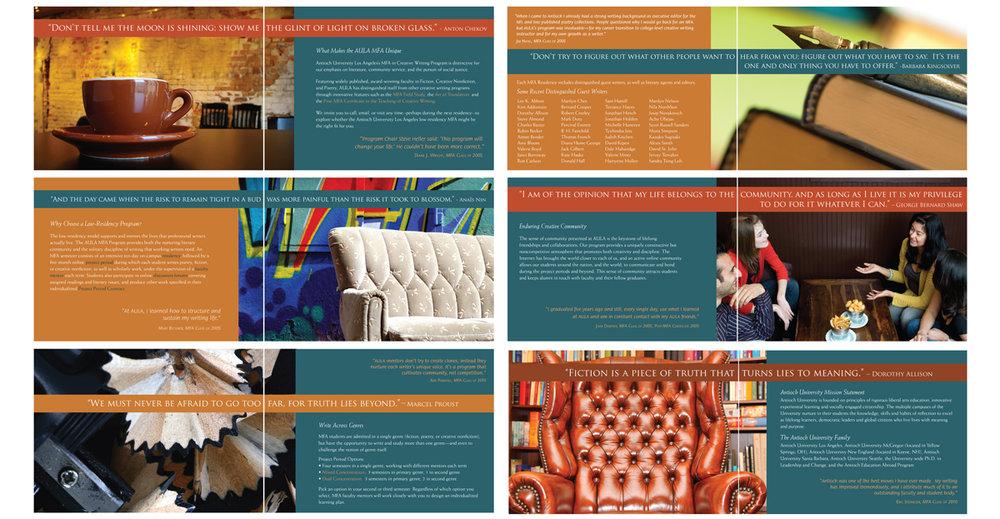 Antioch University Los Angeles academic brochure