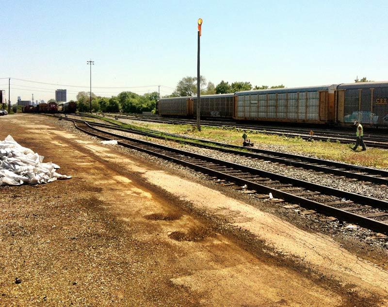 St. Clair Railway Corrdidor in Toronto Canada
