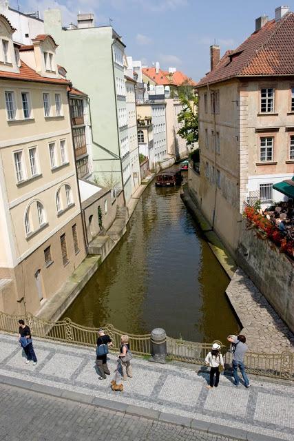 A river in Prague, Czech Repulic