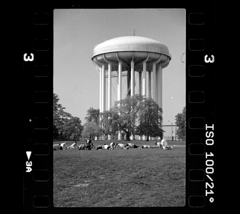 Toronto Water Tower on Film
