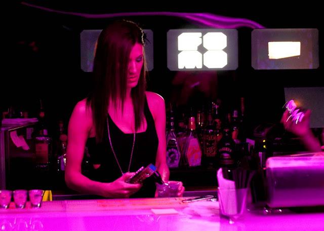 A bartender at Toronto's FOMO