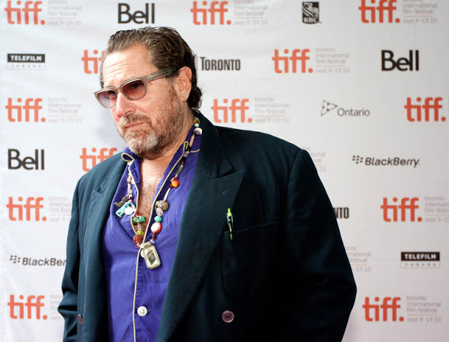 Julian Schnabel on the red carpet for Miral during the Toronto International Film Festival 2010