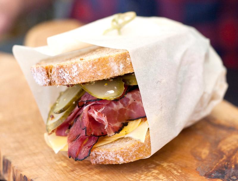 Easton's sandwich in Kensington Market