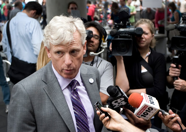 Toronto's Mayor, David Miller