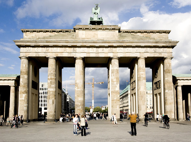 The Brandenburg Gate as seen in 2008 in Berlin