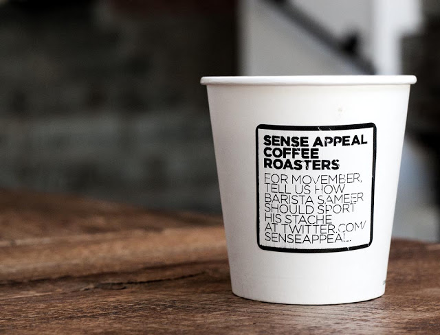 Sense appeal's cups for the month of movemeber as seen by Dennis Marciniak