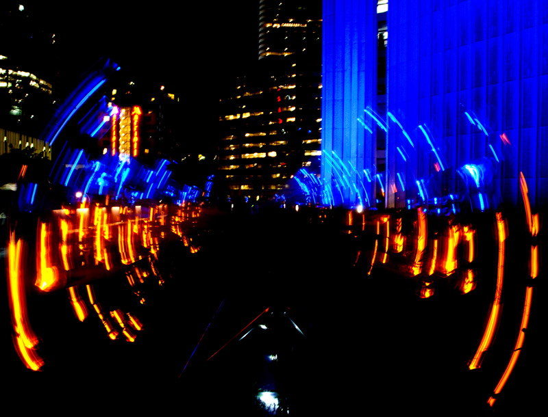 Through the Gorrilla Glass at Scotiabank Nuit Blanche