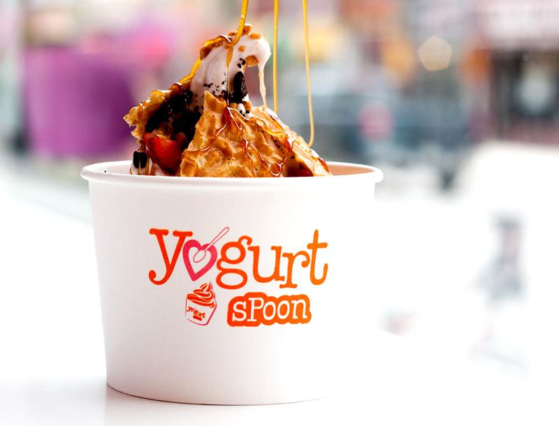 Yogurt Spoon on Yonge Street in Toronto