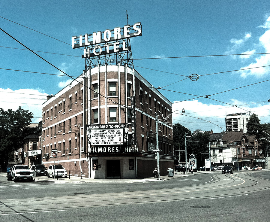 Filemore's stripclub on Dundas Street in Toronto Canada