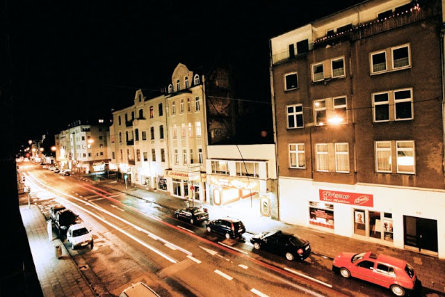 A street in Koln (Colonge) taken at night in 2007