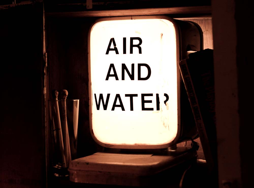Air and Water as seen in Mrs. Huzienga