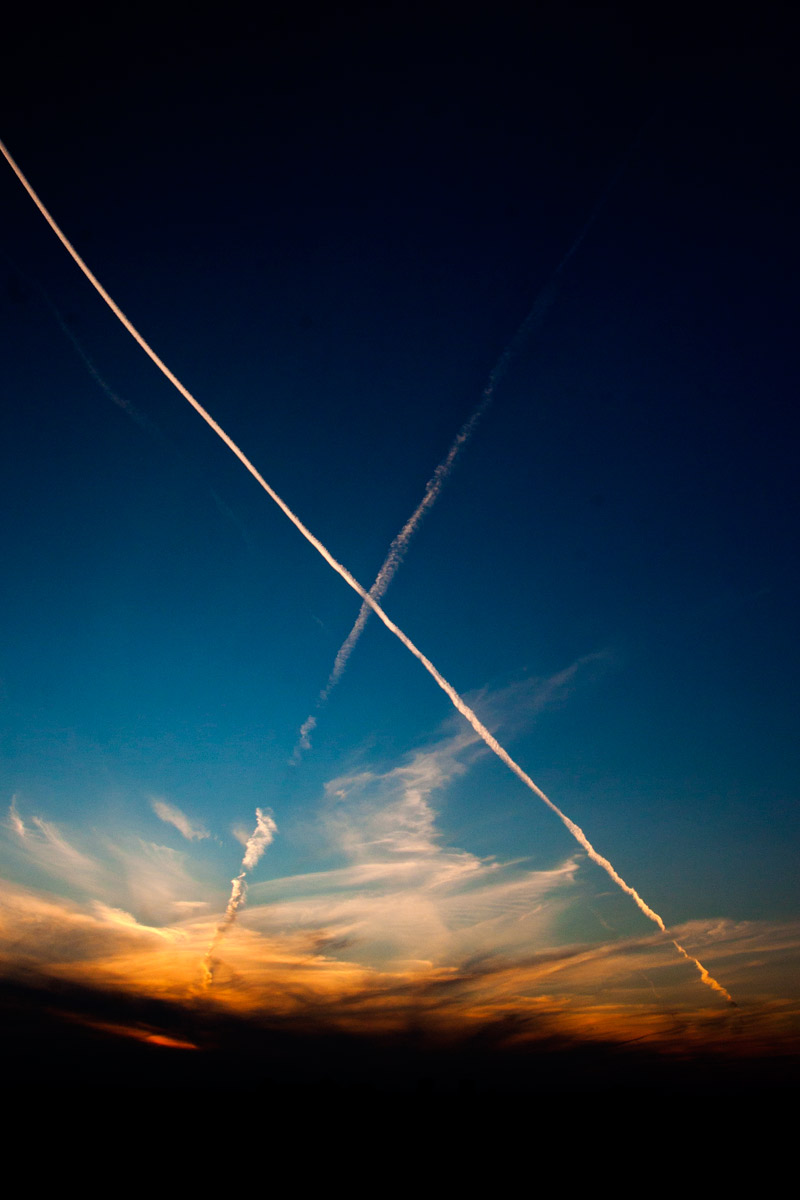 An X in the sky