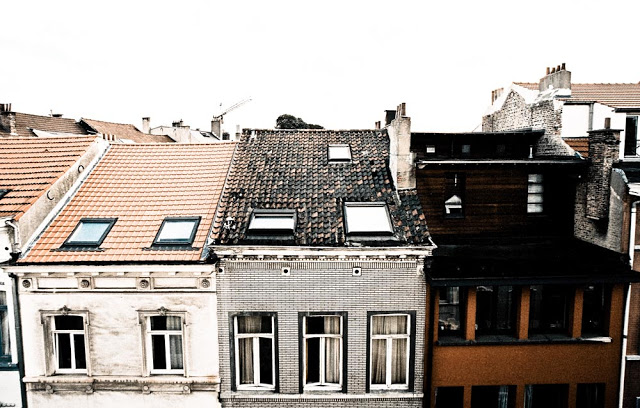 The Rooftops of Brussels as seen in 2007 by photographer Dennis Marciniak