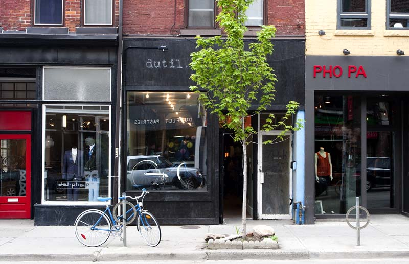 A section of Queen Street West