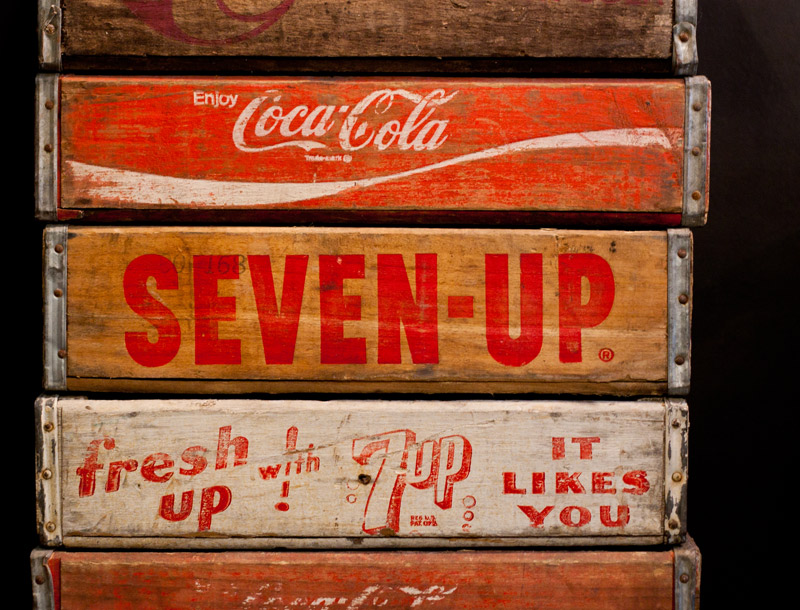 Old Coca-Cola Crates