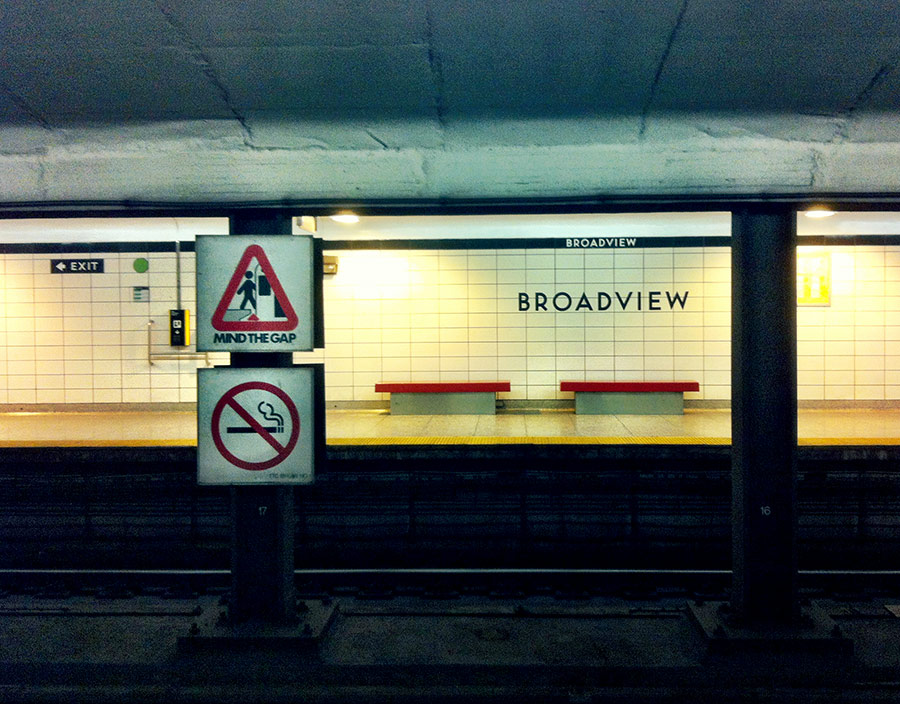 Broadview subway station