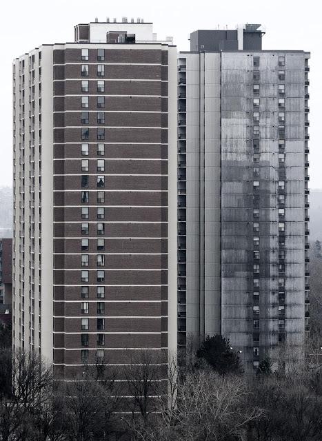 A pair of Toronto highrises
