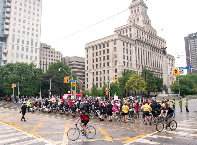 The G20 Protests in Downtown Toronto on June 23, 2010