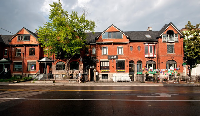 John near Adelaide Street West in Toronto Ontario, shot by Toronto photographer Dennis Marciniak.