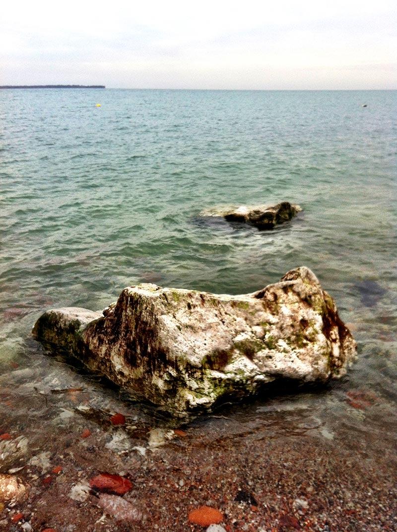 A rock on Lake Ontario