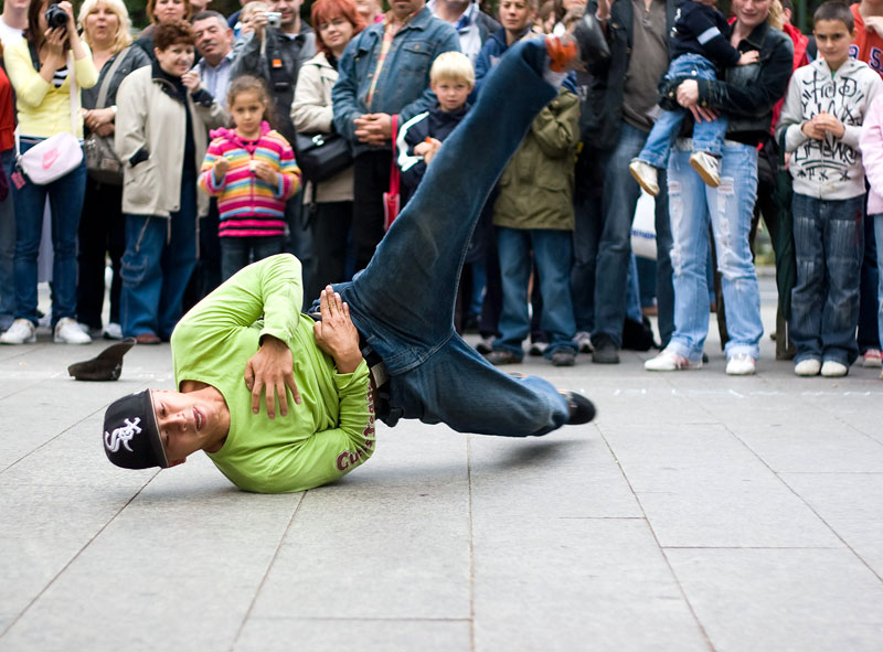 Breakdancing in Berlin