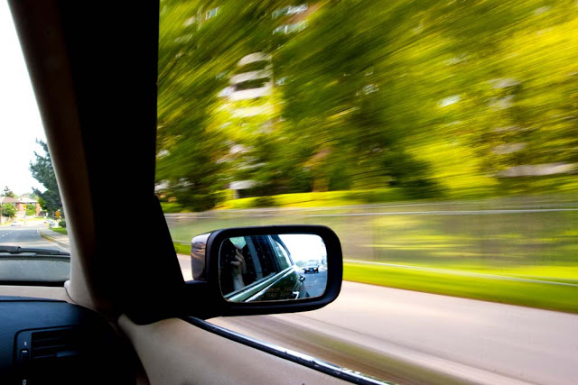 A Car Mirror